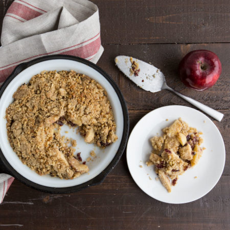 Image of Cranberry Apple Crumble